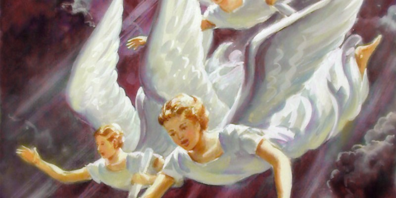 The Third Angels' Message must be proclaimed with a loud voice