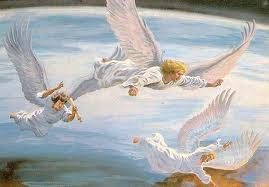 The third angel  and the loud cry ( Revelation 18, mighty angel,  another  angel)